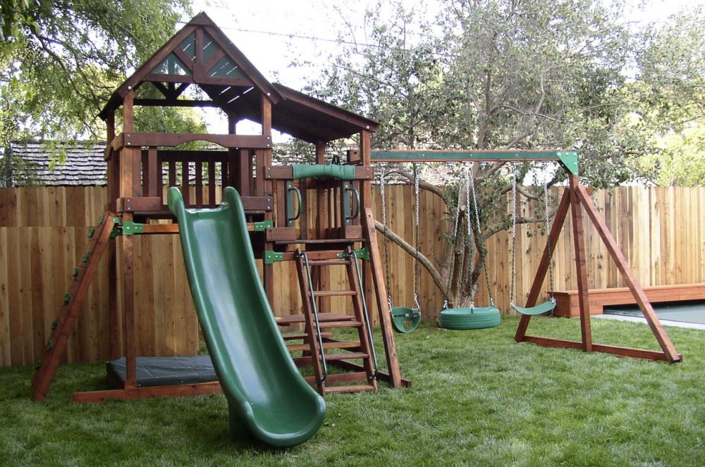 Image of: Dream of Outdoor Playsets
