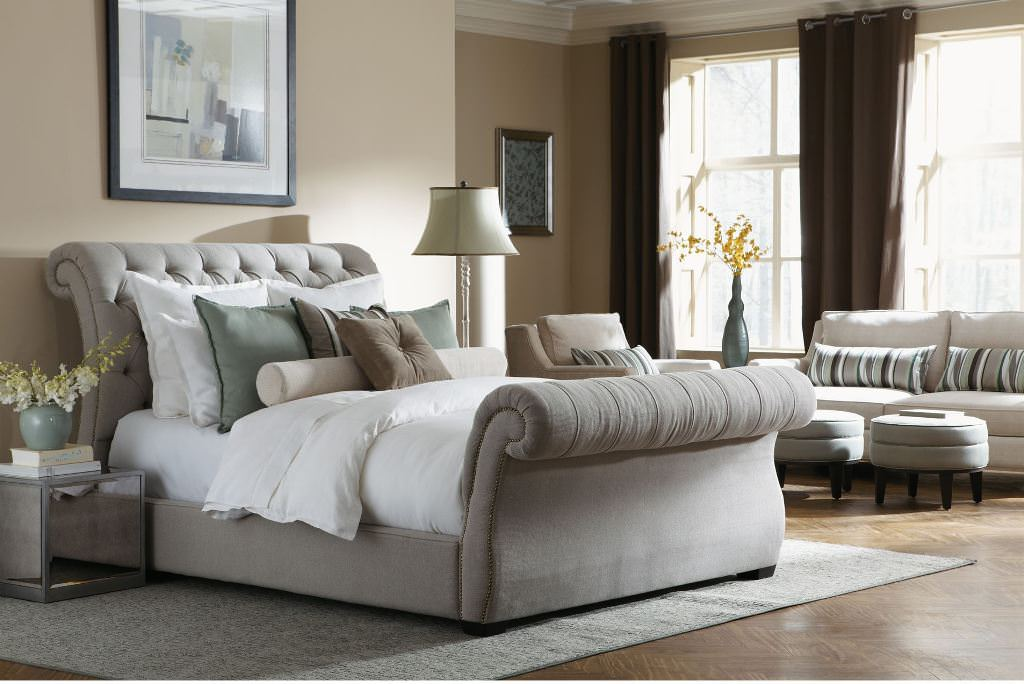 Image of: The Eastern King Bed Frame Ideas