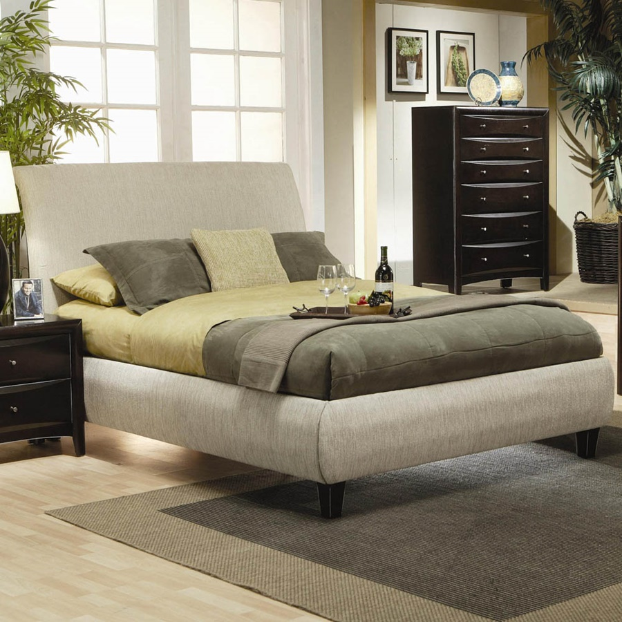 Image of: Eastern King Bed Frame Pictures