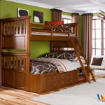 Elegant Twin Over Twin Bunk Beds With Stairs