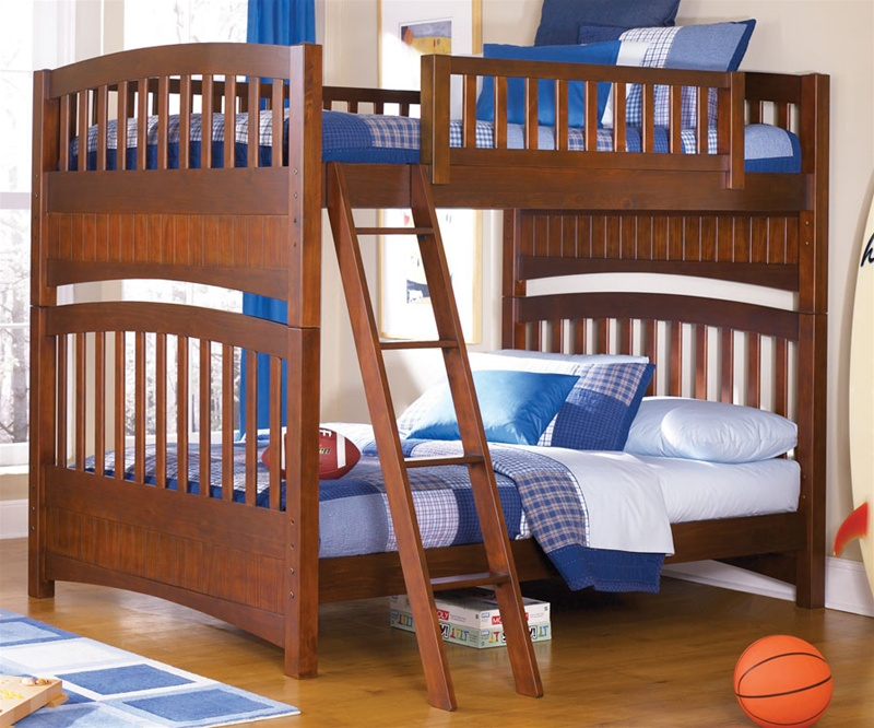 Image of: Full Size Bunk Bed Designs