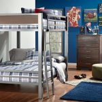 Full Size Bunk Bed Silver