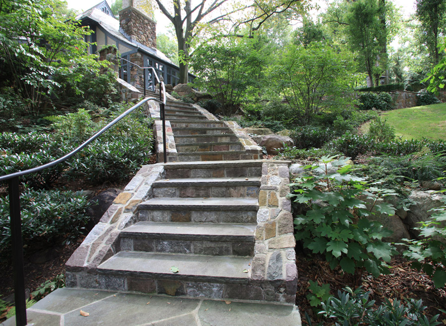 Image of: Garden Outdoor Stair Treads