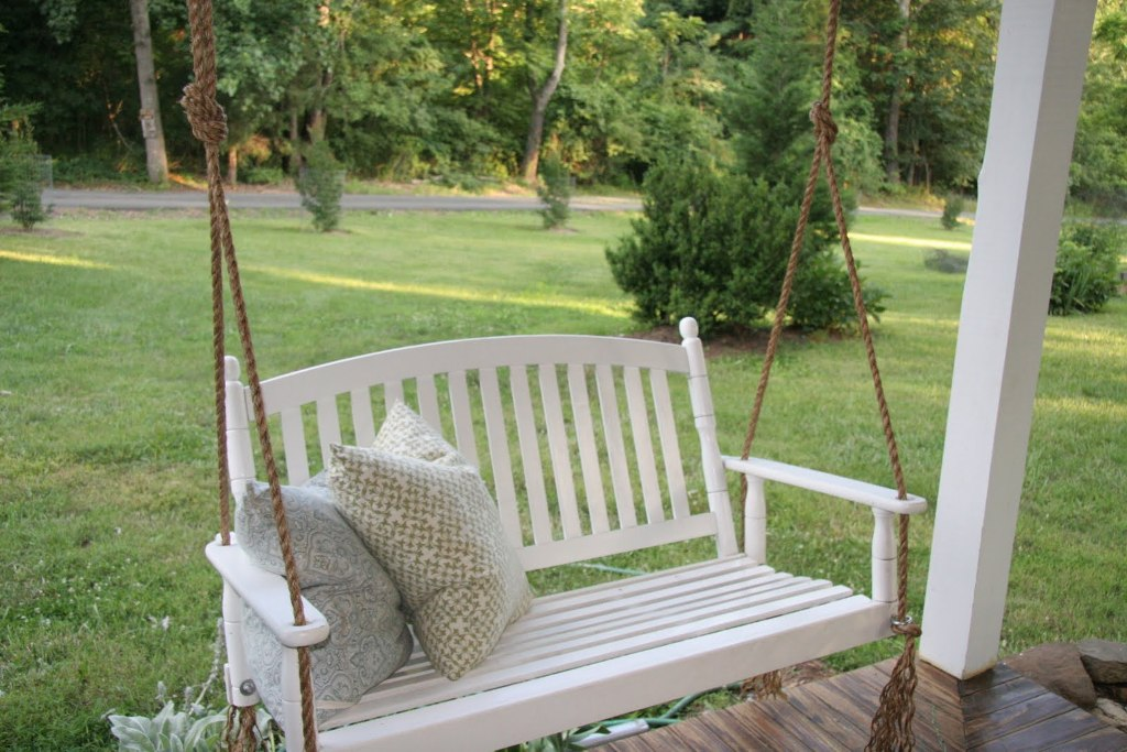 Image of: Good Patio Swings