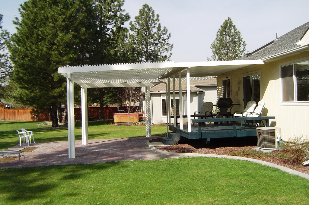 Image of: Ideas Patio Awnings