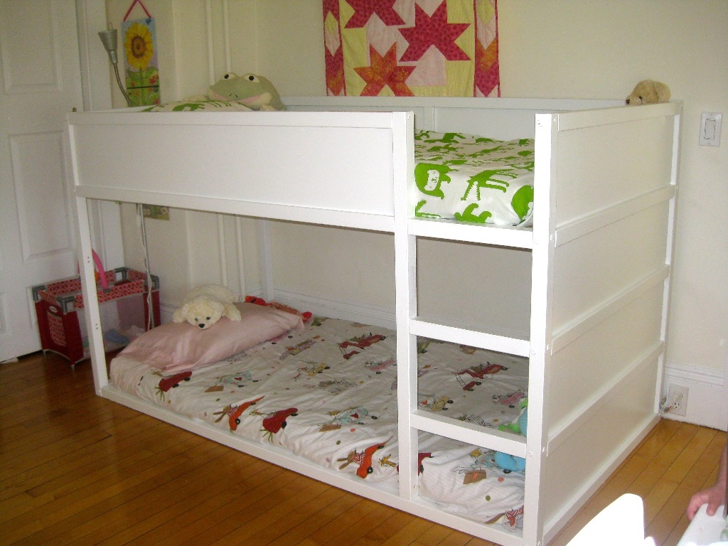 Image of: Ikea Kura Loft Bed Assembly