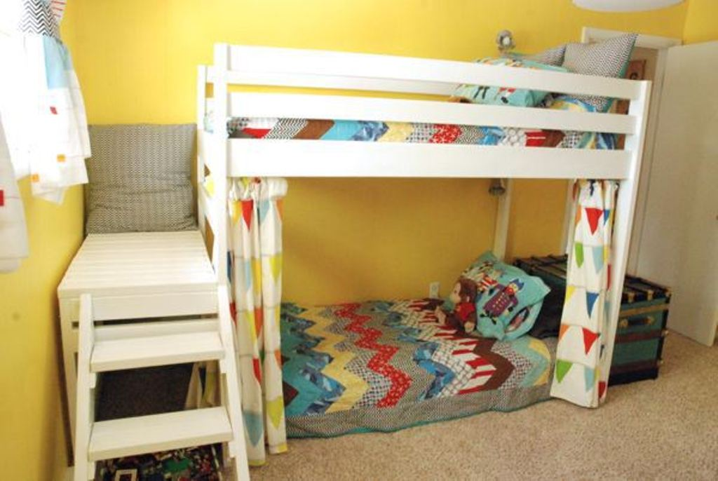 Image of: Ikea Kura Loft Bed Hacks
