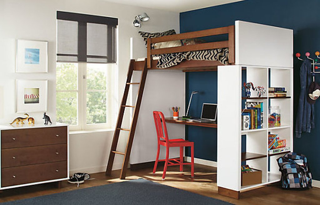 Image of: Ikea Stora Loft Bed for Children