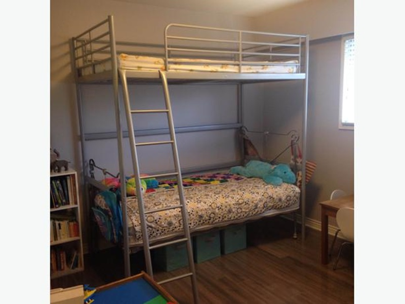 Image of: Ikea Svarta Loft Bed Pictures