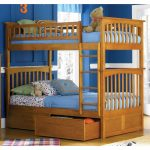 Interior Bunk Beds Twin over Twin