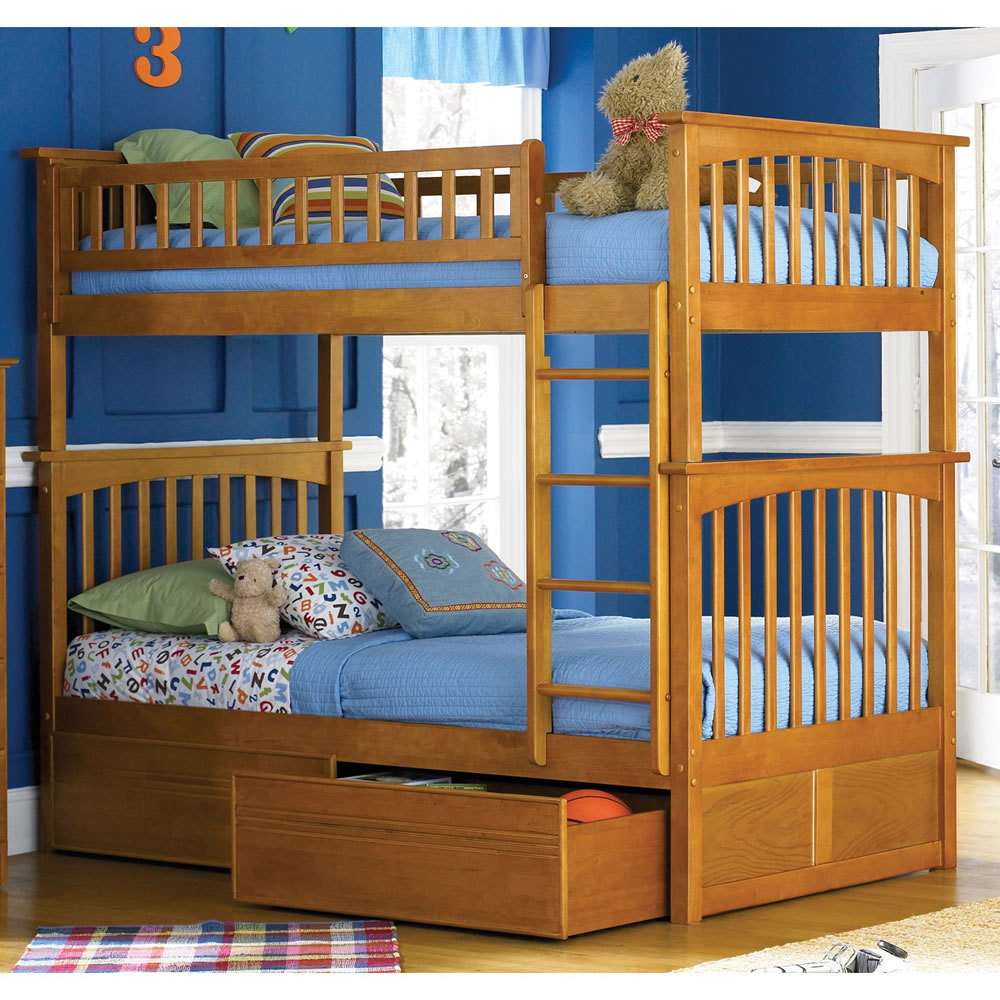 Image of: Interior Bunk Beds Twin over Twin