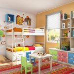 Kid Bunk Beds Storage