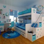 Kid Bunk Beds with Desk