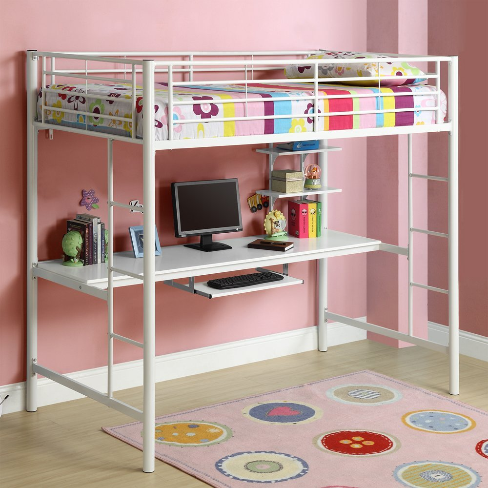 Kids Bunk Beds with Desk