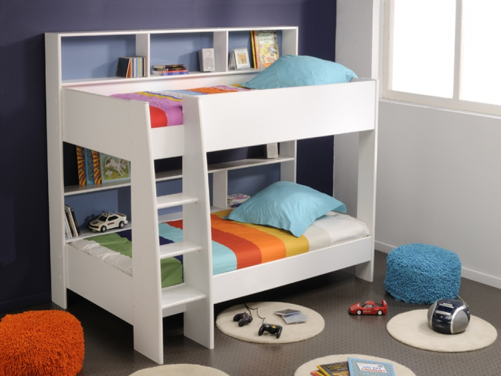 Image of: Minimalist Kid Bunk Beds