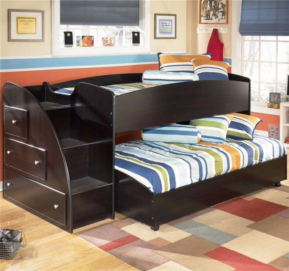 Image of: Modern Childrens Bunk Beds