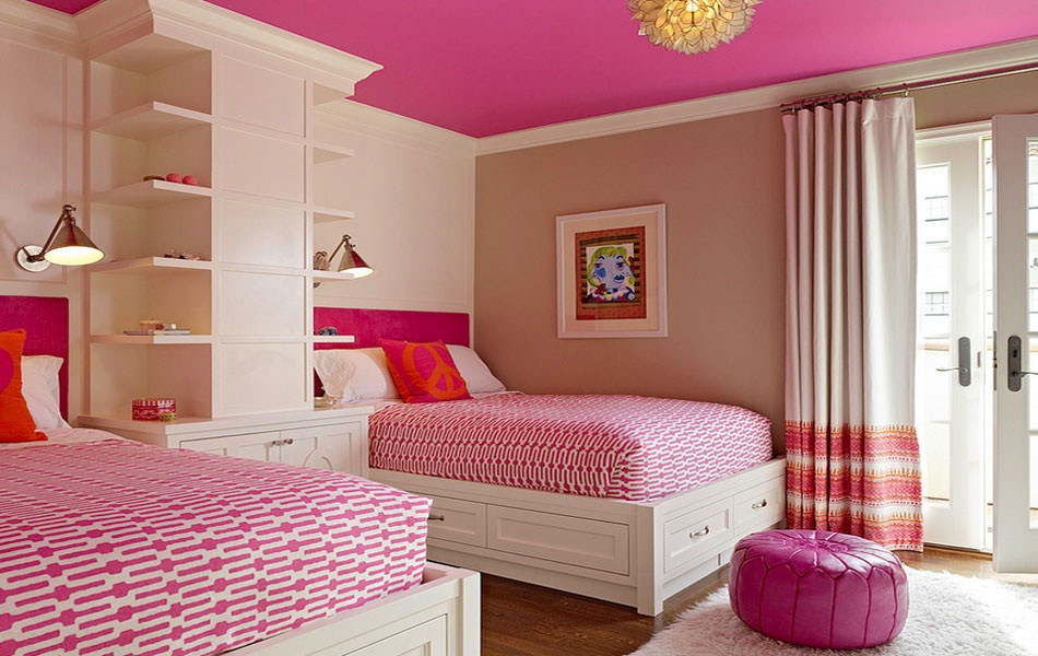 Image of: Modern Childrens Twin Beds