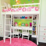 Modern Kids Bunk Beds with Desk