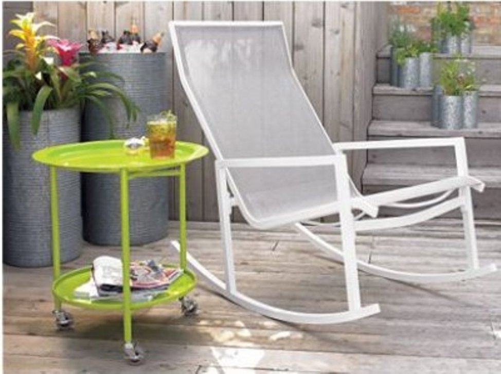 Image of: Modern Outdoor Rocking Chair Ideas