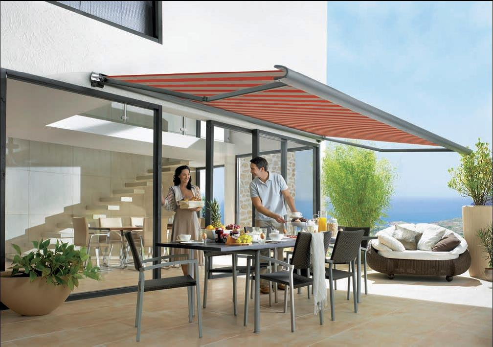 Image of: Modern Patio Awnings