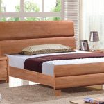 Modern Solid Wood Twin Bed