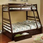 Modern Twin Full Bunk Beds With Stairs