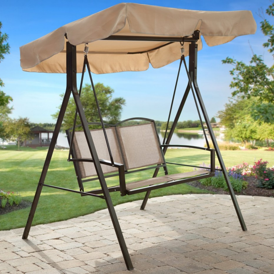 Image of: Nice Patio Swings