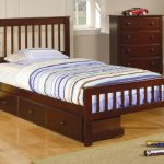 Nice Twin Bed With Drawers Underneath