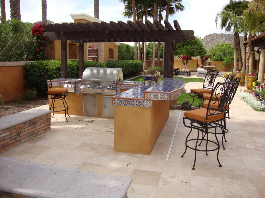 Image of: Outdoor Barstools Sets