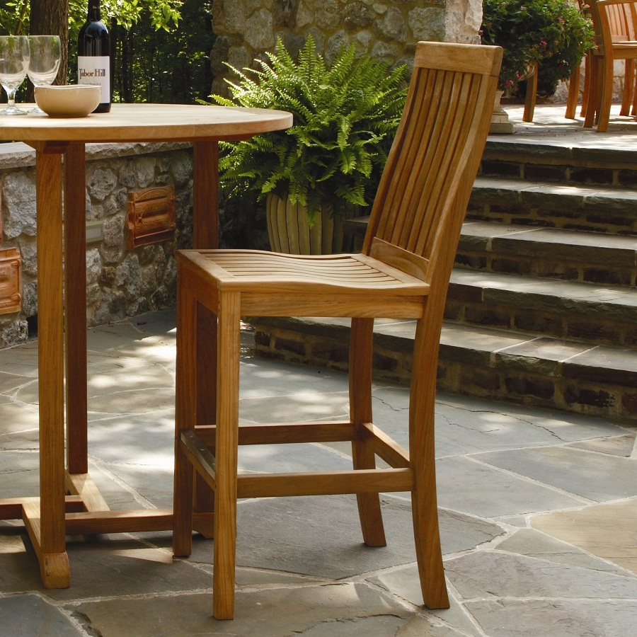 Outdoor Barstools Wood