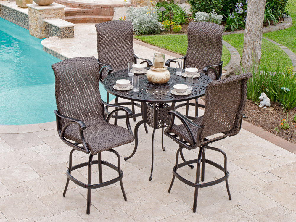 Image of: Outdoor Barstools with Arm