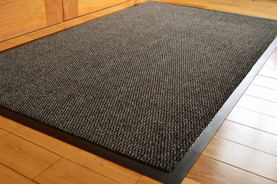 Image of: Outdoor Doormats Black