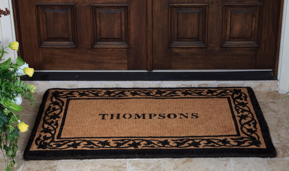 Image of: Outdoor Doormats Color