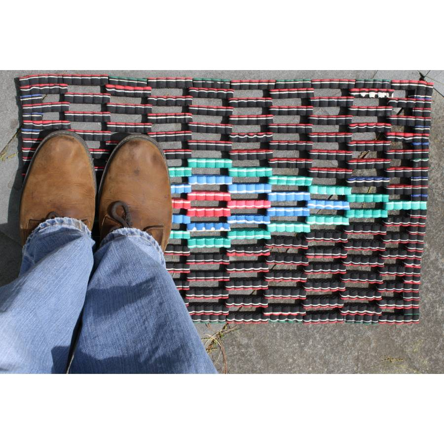 Image of: Outdoor Doormats Colorful