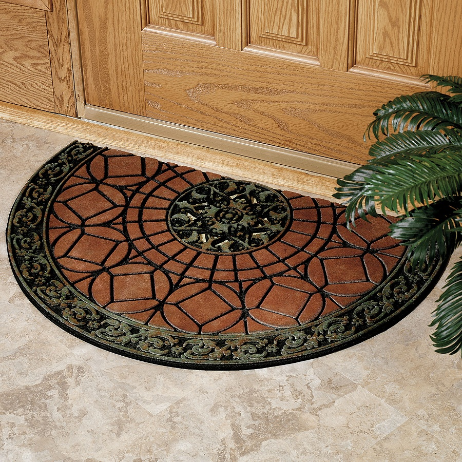 Image of: Outdoor Doormats Shapes
