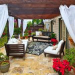 Outdoor Patio Curtains Modern