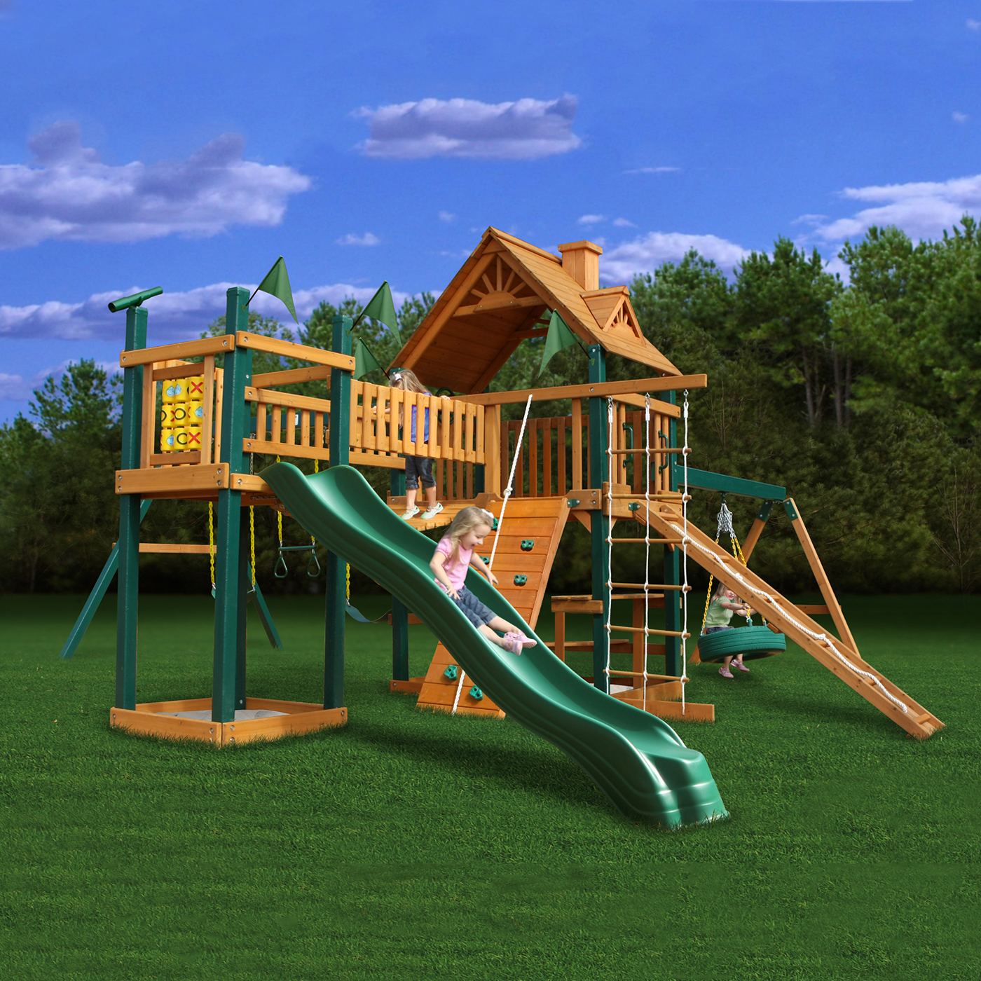 Image of: Outdoor Playsets Picture