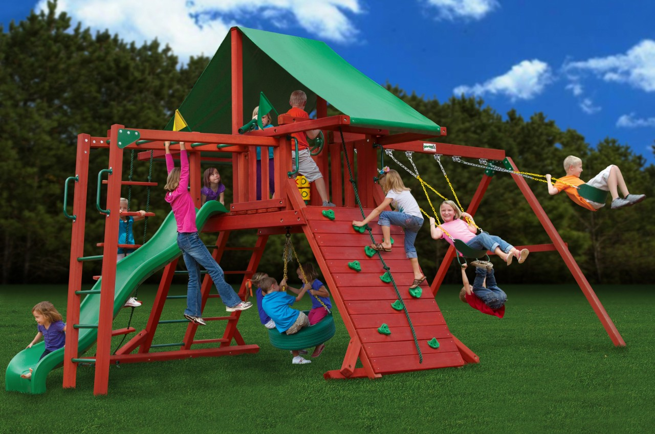 Image of: Outdoor Playsets for Kids