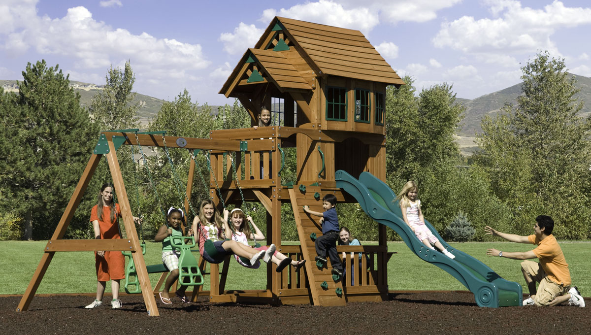 Outdoor Playsets for Older Kids