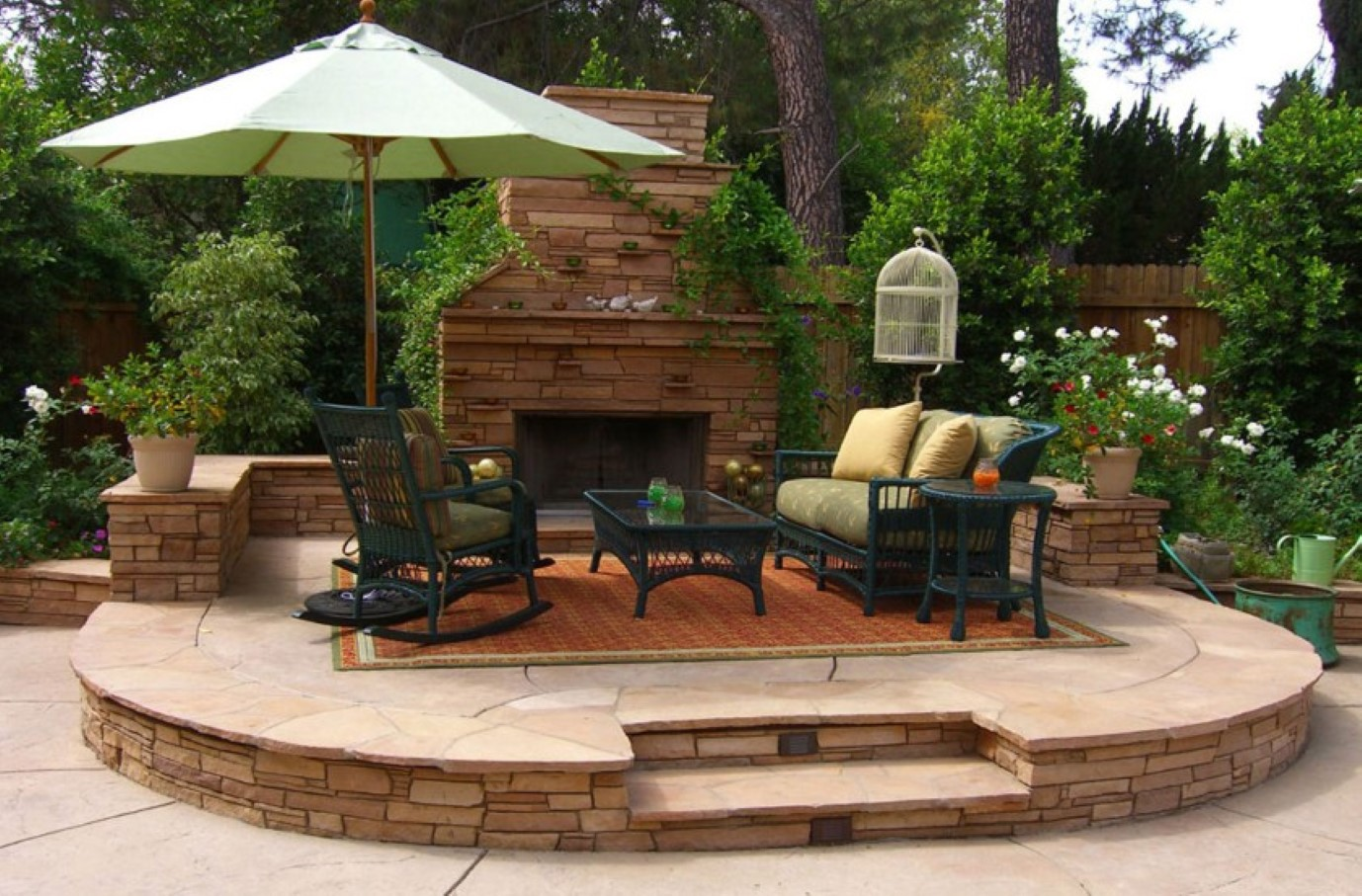 Image of: Outdoor Rocking Chair Ideas