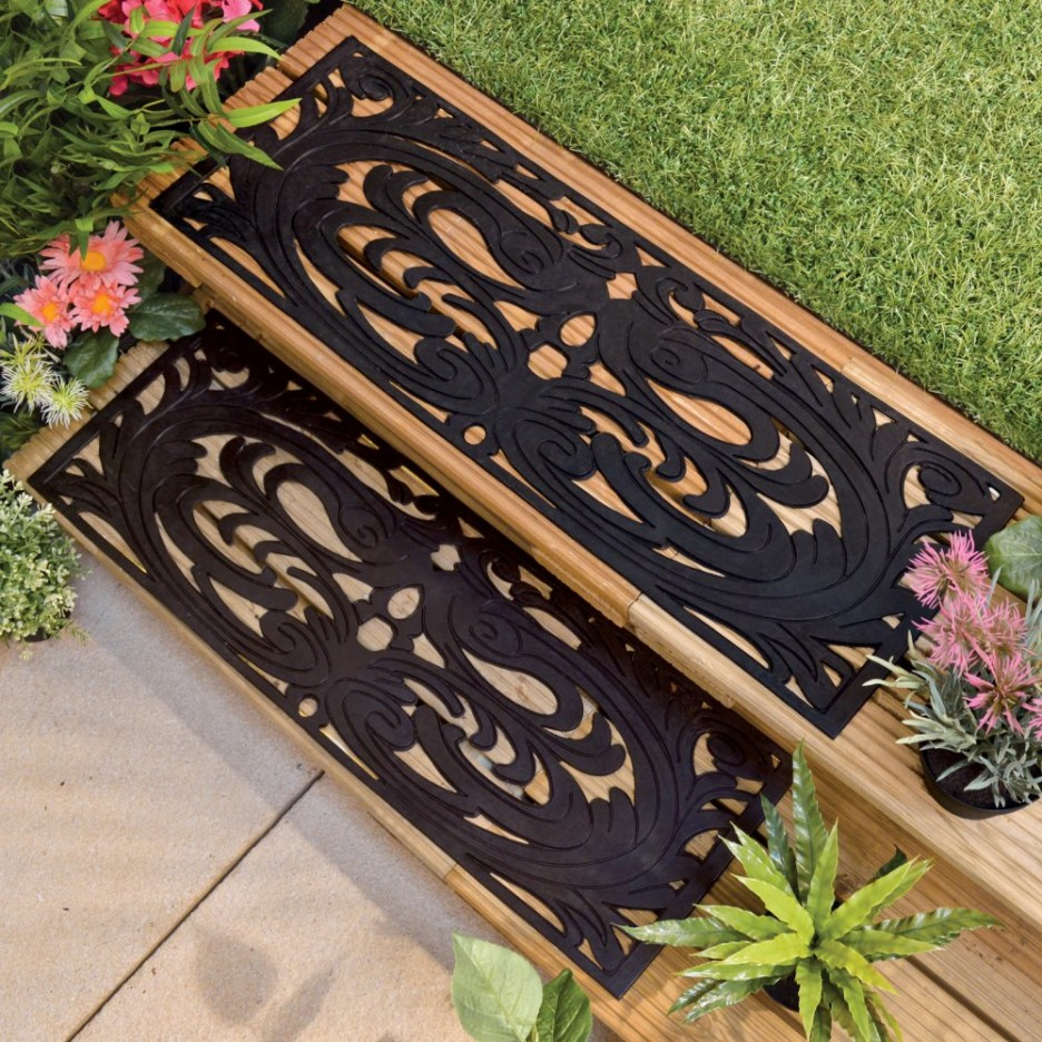 Image of: Outdoor Stair Treads Mats