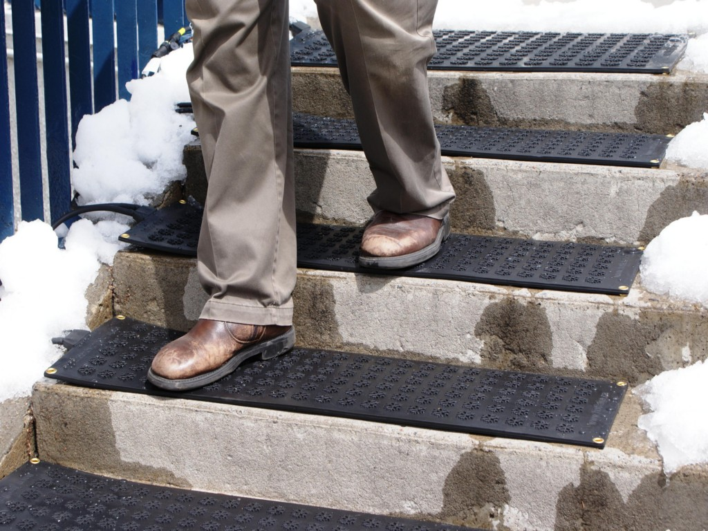 Outdoor Stair Treads Rubber