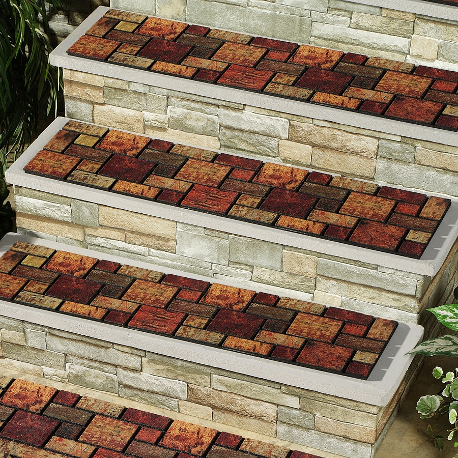 Image of: Outdoor Stair Treads Style
