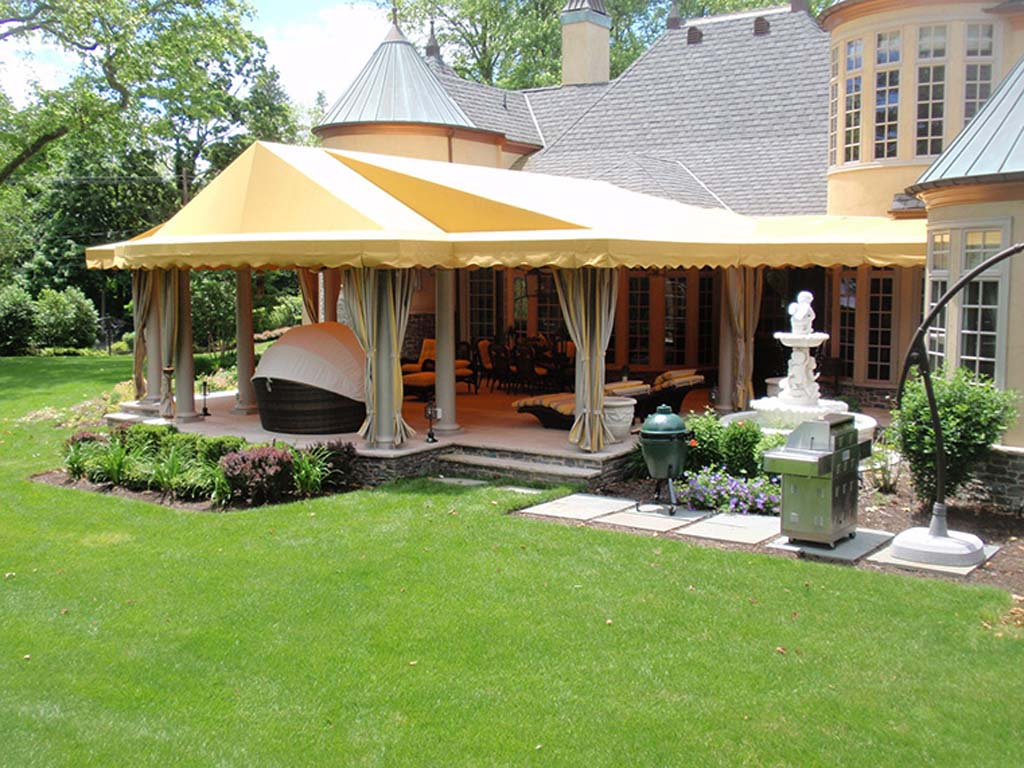 Image of: Patio Awnings Color