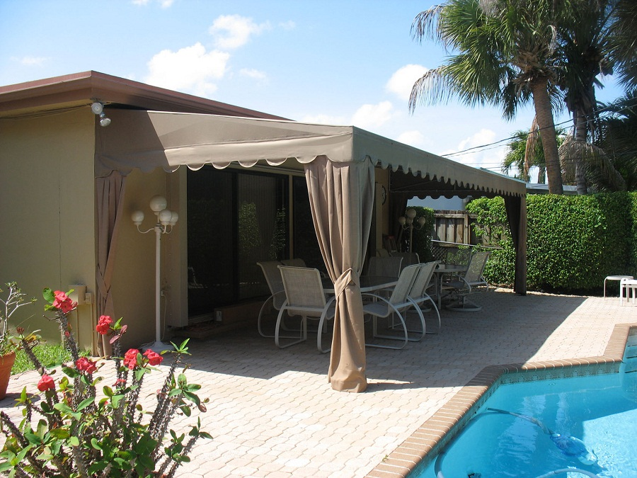 Image of: Patio Awnings Ideas