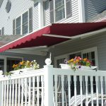 Patio Awnings Red
