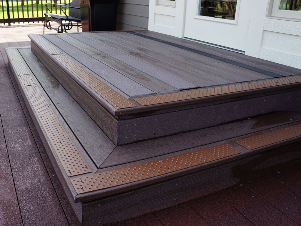 Image of: Patio Outdoor Stair Treads