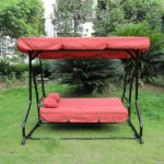 Patio Swing Chair with Canopy