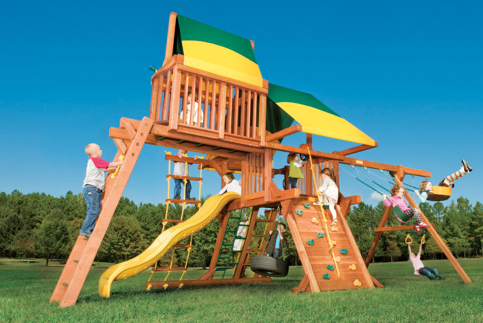 Image of: Plastic Outdoor Playsets