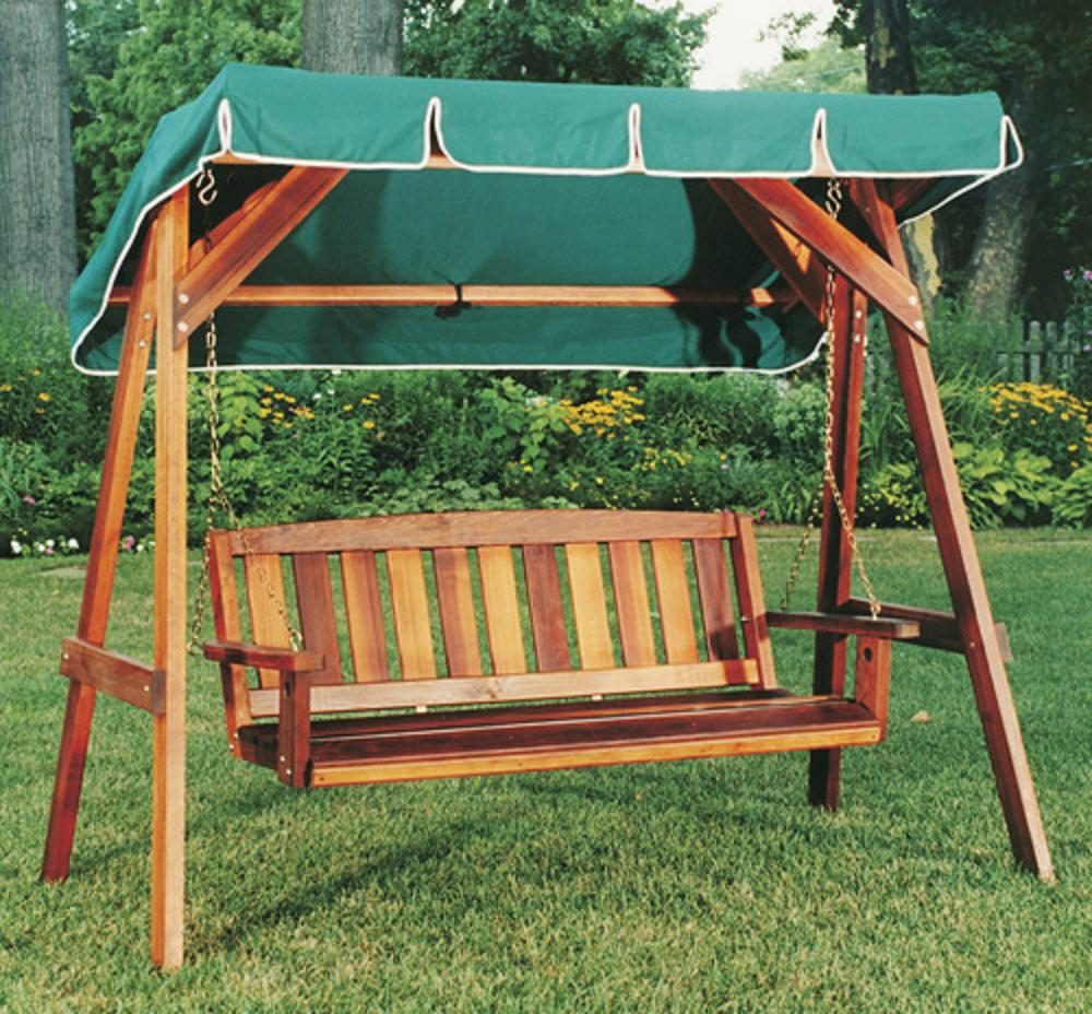 Image of: Pretty Patio Swings